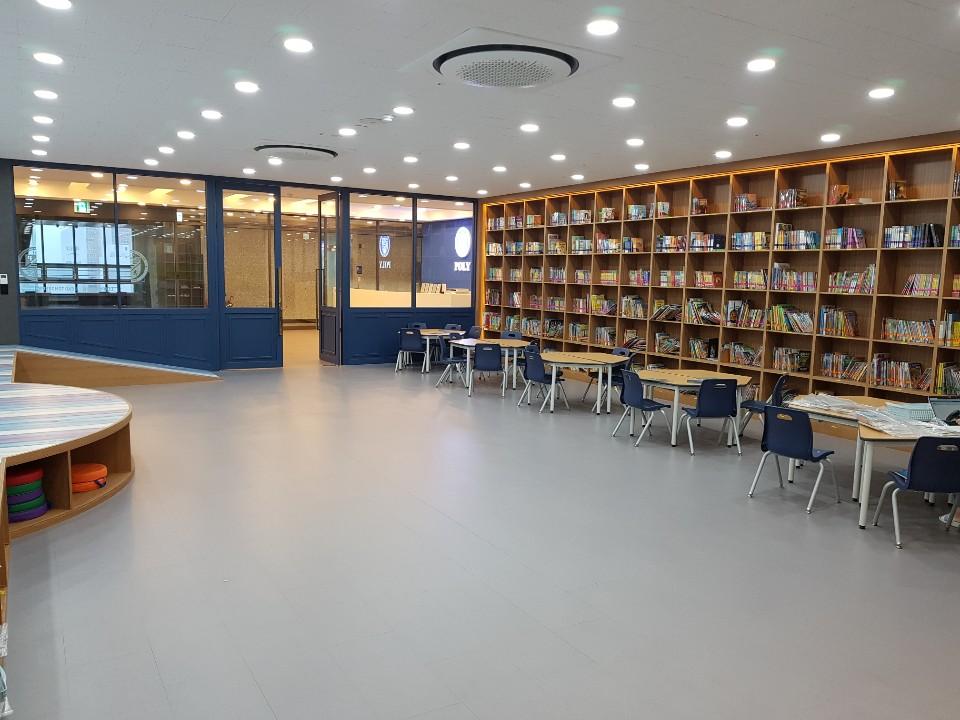 마산 캠퍼스 도서관 사진